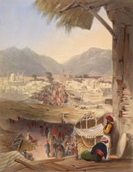 City of Kandahar, its principal bazaar and citadel, taken from the Nakkara Khauna